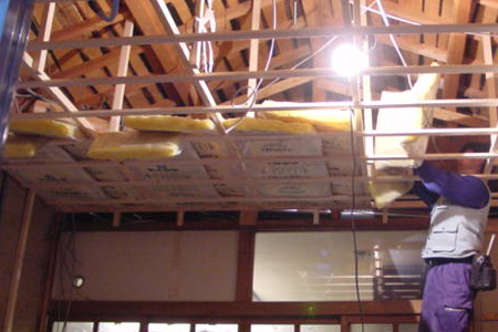天井の張り替え