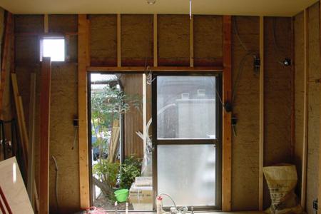 床、天井の張り替え完了